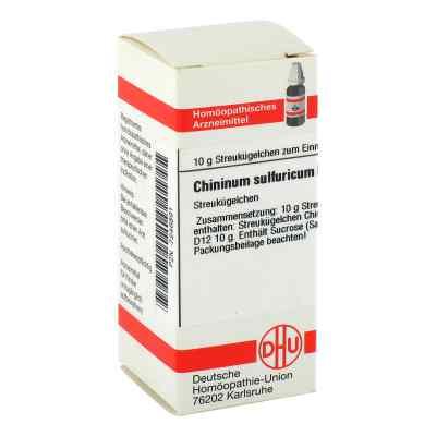 Chininum Sulfuricum D 12 Globuli  bei apo-discounter.de bestellen