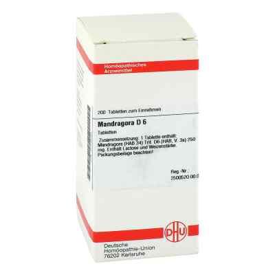 Mandragora D6 Tabletten  bei apo-discounter.de bestellen