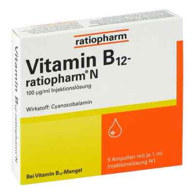Vitamin B12 ratiopharm N Ampullen  bei apo-discounter.de bestellen
