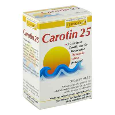 Carotin 25 Feingold Kapseln  bei apo-discounter.de bestellen