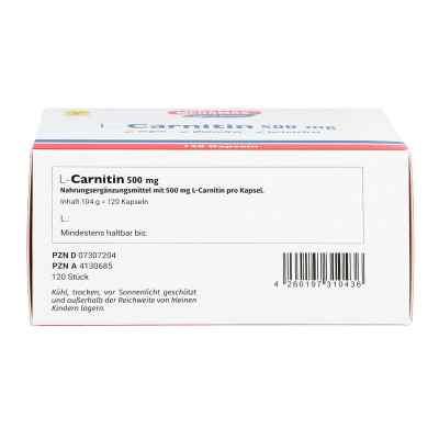 L-carnitin 500 mg Megamax Kapseln  bei apo-discounter.de bestellen