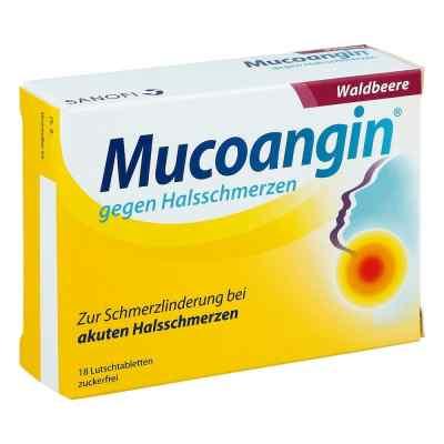 Mucoangin gegen Halsschmerzen Waldbeere