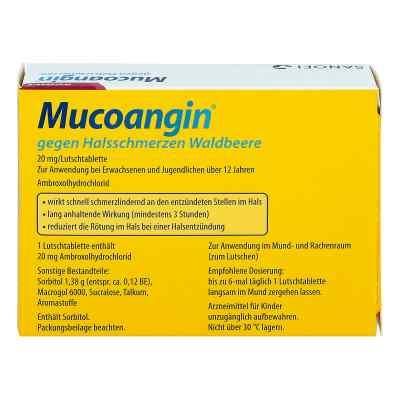 Mucoangin gegen Halsschmerzen Waldbeere Lutschtabletten  bei apo-discounter.de bestellen