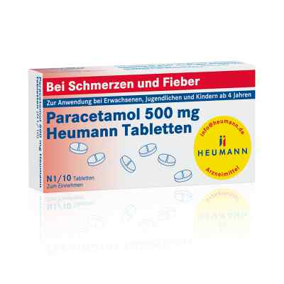 Paracetamol 500mg Heumann