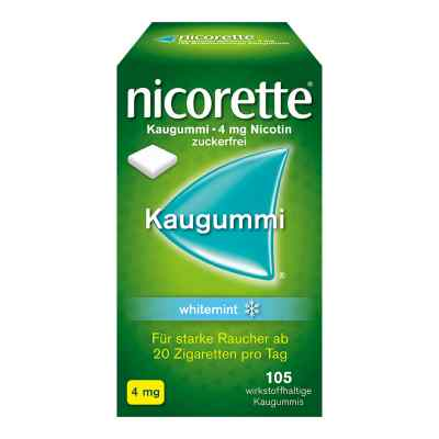 Nicorette 4mg whitemint