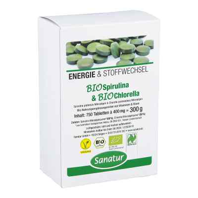 Biospirulina & Biochlorella 2 in 1 Tabletten
