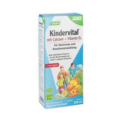 Kindervital Bio mit Calcium+d3 Tonikum Salus  bei apo-discounter.de bestellen
