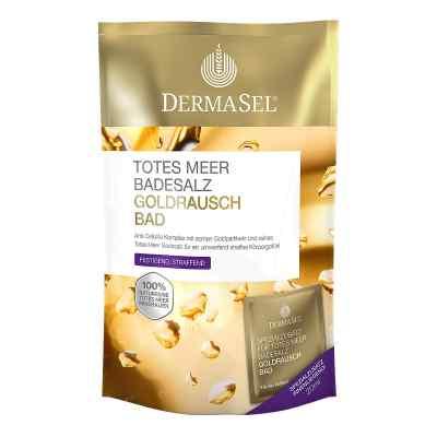 Dermasel Totes Meer Badesalz+gold Exklusiv bei apo-discounter.de bestellen