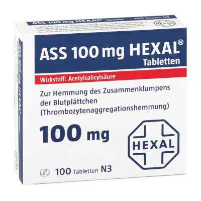 ASS 100mg HEXAL  bei apo-discounter.de bestellen