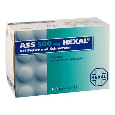 ASS 500mg HEXAL bei Fieber und Schmerzen  bei apo-discounter.de bestellen