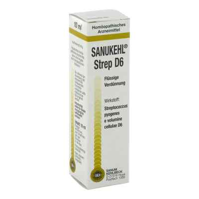 Sanukehl Strep D 6 Tropfen  bei apo-discounter.de bestellen