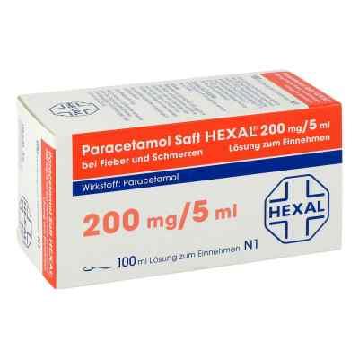 Paracetamol Saft HEXAL 200mg/5ml bei Fieber und Schmerzen  bei apo-discounter.de bestellen