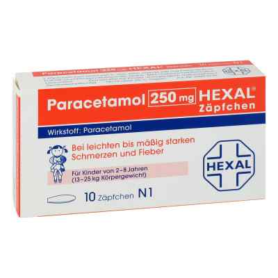 Paracetamol 250mg HEXAL bei apo-discounter.de bestellen