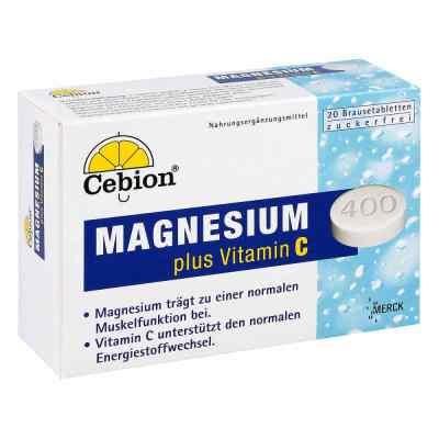 Cebion Plus Magnesium 400 Brausetabletten  bei apo-discounter.de bestellen