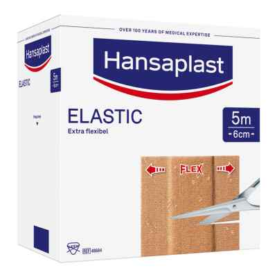 Hansaplast Elastic Pflaster 5mx6cm  bei apo-discounter.de bestellen