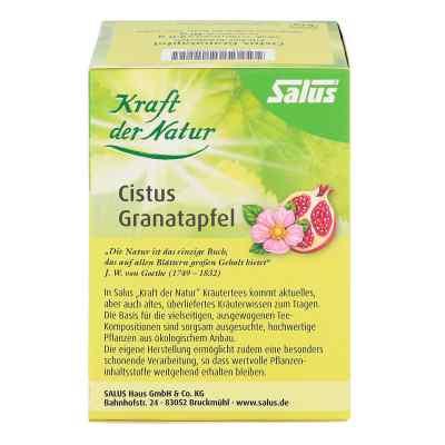 Cistus Granatapfel Tee Kraft der Natur Beutel salus  bei apo-discounter.de bestellen