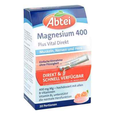 Abtei Magnesium 400+vitamin B Komplex Granulat  bei apo-discounter.de bestellen