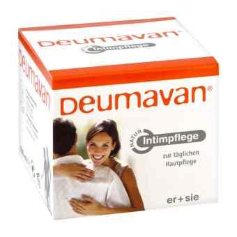 Deumavan Salbe Natur ohne Lavendel Dose
