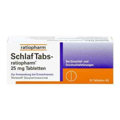 SchlafTabs-ratiopharm 25mg  bei apo-discounter.de bestellen