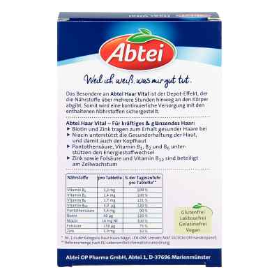 Abtei Haar Vital Depot Tabletten  bei apo-discounter.de bestellen