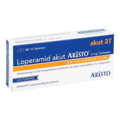 Loperamid akut Aristo 2mg  bei apo-discounter.de bestellen