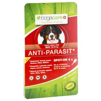 Bogacare Anti-parasit Spot-on Hund gross bei apo-discounter.de bestellen