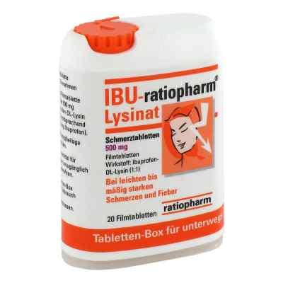 IBU-ratiopharm Lysinat Schmerztabletten 500mg