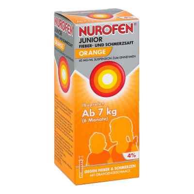 Nurofen Junior Fieber- und Schmerzsaft Orange 40mg/ml  bei apo-discounter.de bestellen