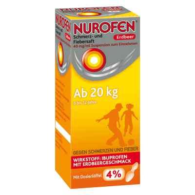 Nurofen Schmerz- und Fiebersaft Erdbeer 40mg/ml