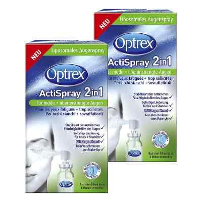 2x Optrex ActiSpray 2in1 für müde  überanstrengte Augen  bei apo-discounter.de bestellen