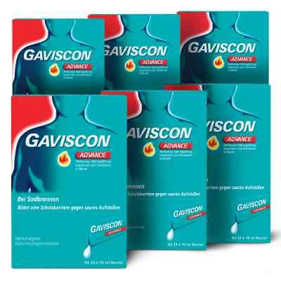 Gaviscon Advance Pfefferminz 1000mg/200mg Dosierbeutel  bei apo-discounter.de bestellen