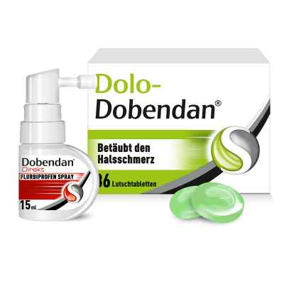 Dolo-Dobendan Set gegen Halsschmerzen  bei apo-discounter.de bestellen