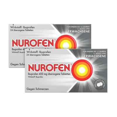 2x Nurofen Ibuprofen 400mg 24 stk + Sagrotan 2in1 Desinfektions-  bei apo-discounter.de bestellen