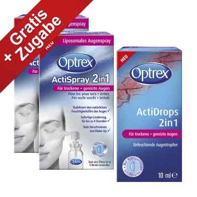Optrex Actispray 2in1 für trockene+gereizte Augen  bei apo-discounter.de bestellen
