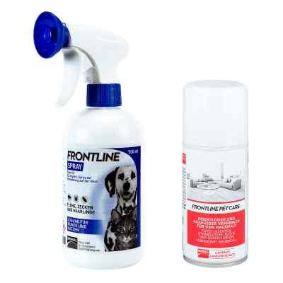 Anti-Floh Set für Hunde und Katzen Frontline veterinär Spray  bei apo-discounter.de bestellen