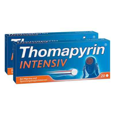 Thomapyrin INTENSIV bei Migräne & Kopfschmerzen Doppelpack  bei apo-discounter.de bestellen