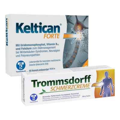 Keltican forte + Trommsdorff Schmerzcreme  bei apo-discounter.de bestellen