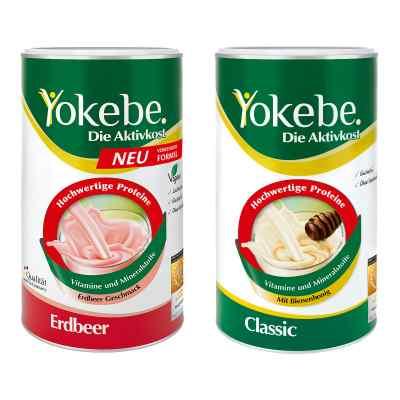 Yokebe Classic & Erdbeer Starterpaket  bei bioapotheke.de bestellen