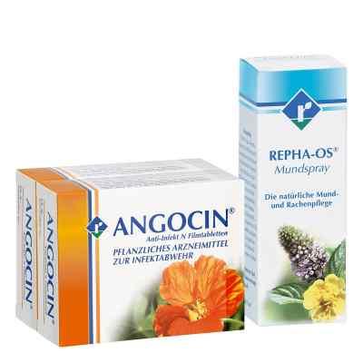 Repha Os Mundspray  Angocin Anti-Infekt N - Set  bei apo-discounter.de bestellen