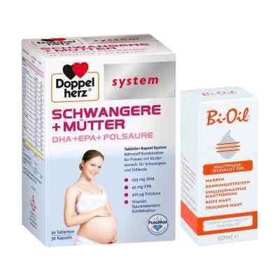 Doppelherz Schwangere  Mütter mit Bi Oil  bei apo-discounter.de bestellen