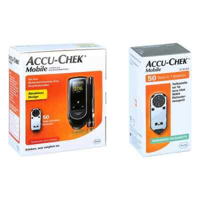 Accu Chek Mobile Set mg/dl Iii + Accu Chek Mobile Testkassette  bei apo-discounter.de bestellen