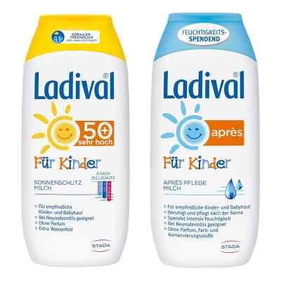Ladival Kinder Sonnenmilch Lsf 50 und Apres Lotion  bei apo-discounter.de bestellen