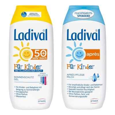 Ladival Kinder Sonnengel allergische Haut und Apres Lotion  bei apo-discounter.de bestellen