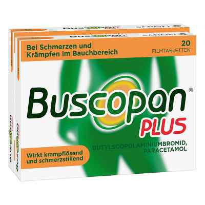 Buscopan PLUS Filmtabletten Doppelpack  bei apo-discounter.de bestellen