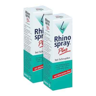 Rhinospray Plus bei Schnupfen Nasenspray Doppelpack  bei apo-discounter.de bestellen