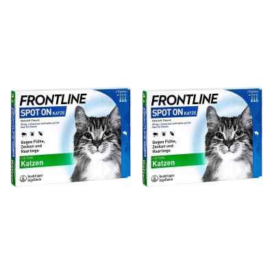 Frontline Spot on Katze veterinär Lösung gegen Floh und Zecke  bei apo-discounter.de bestellen