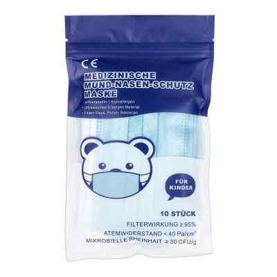 Mund-Nasen-Schutz Maske für Kind M mit Nasenbügel  bei apo-discounter.de bestellen