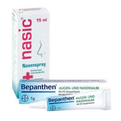Nasic Nasenspray und Bepanthen Augen- und Nasensalbe  bei apo-discounter.de bestellen