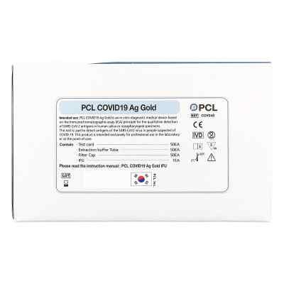 PCL COVID19 Ag Gold Saliva Schnelltest Speicheltest Corona-Spuck  bei apo-discounter.de bestellen