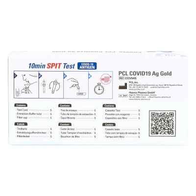 COV04S PCL COVID19 Ag Gold Speicheltest  bei apo-discounter.de bestellen